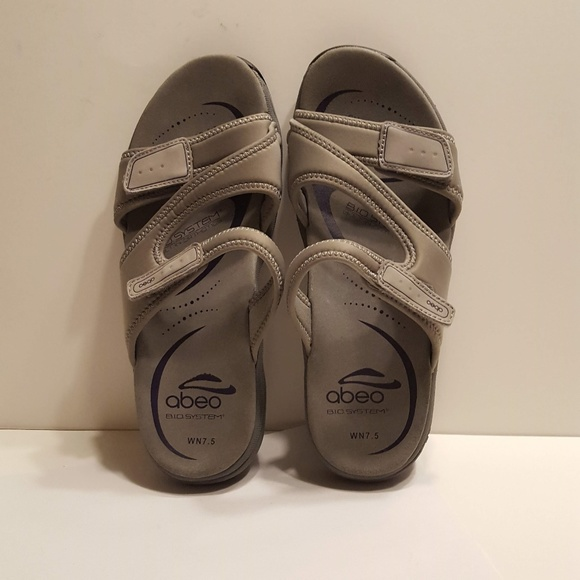 11b6914656a6 Abeo Shoes - Abeo Gayla Slide Orthotic Sandals Women s Size WN7